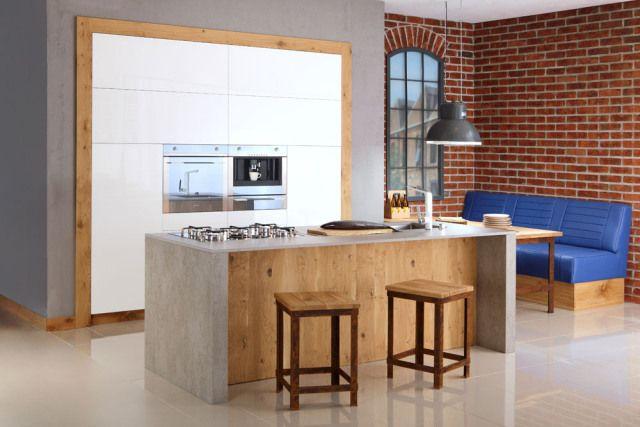 Fot. Kuchnia Loft, Kuchnie z drewna HUL