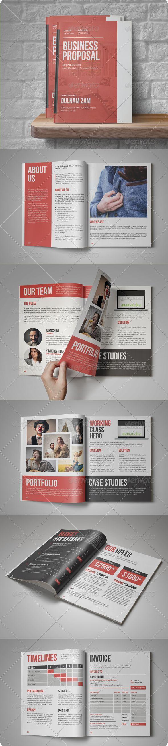 Internal pages  of Sari Business Proposal