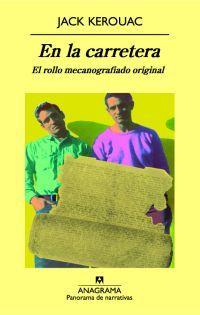 """Es este libro una especie de manifiesto de la generación beat  que  encarna la consigna de Kerouac  de """"moverse"""" a toda costa.Búscalo en http://absys.asturias.es/cgi-abnet_Bast/abnetop?ACC=DOSEARCH&xsqf01=carretera+kerouac+mecanografiado+original"""
