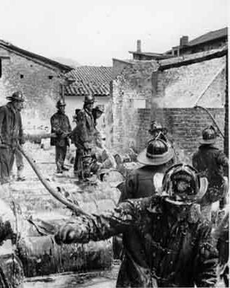 Cuerpo de Bomberos , explosión de 1956
