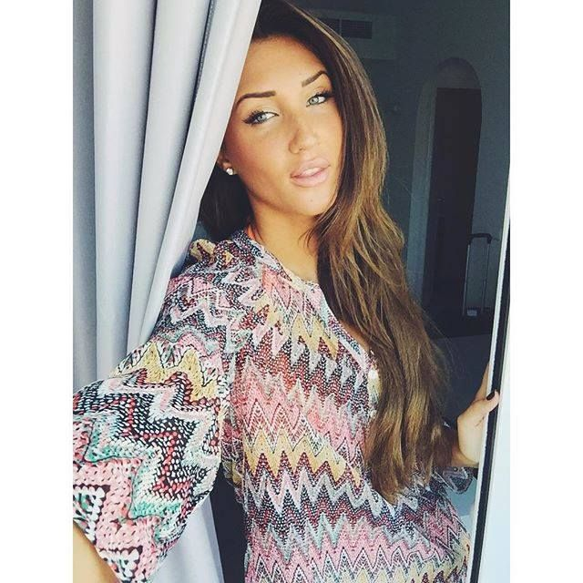 Megan McKenna from MTV's recent series of Ex On The Beach wearing her Diamonfire 1.5ct stud earrings.