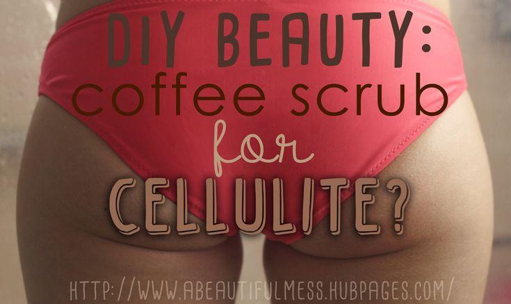 DIY Beauty: Coffee Scrub for Cellulite?