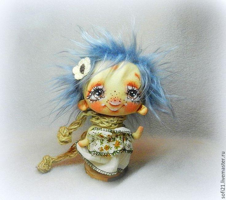 Купить Домовушка Удачка или пускай Вам повезет))) - комбинированный, кукла, авторская игрушка