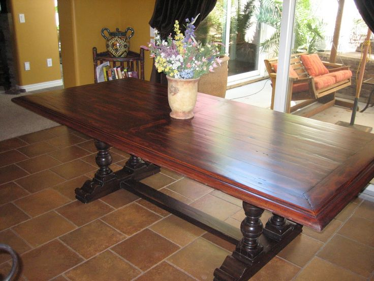 13 best Tables images on Pinterest | Dining room tables, Kitchen ...