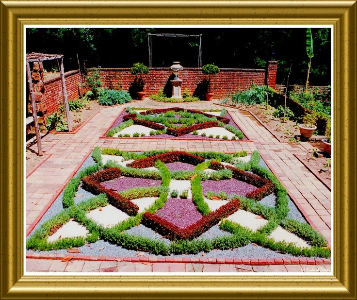 55 best knot gardens images on pinterest gardening herb for Tudor knot garden designs