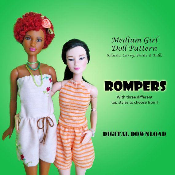 26 besten Sewing for Barbie Bilder auf Pinterest   Frack, Barbie ...