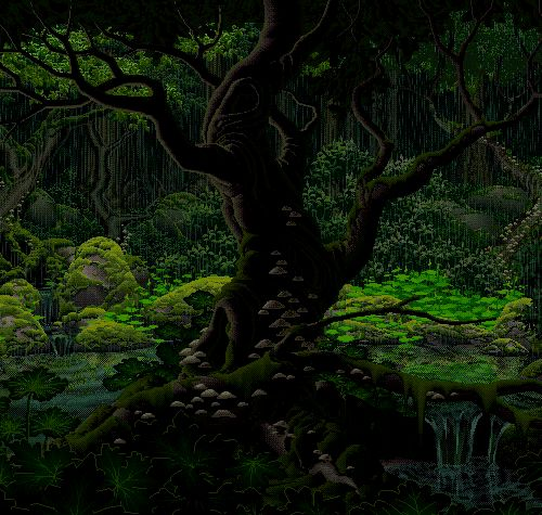 gp-tw-tu-Tranquil forest something about this hypnotizing a - oa1776d