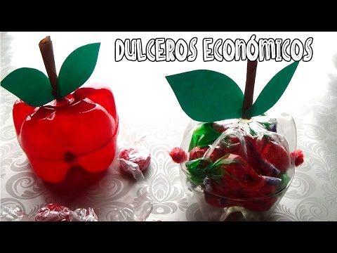 (35) Dulceros económicos hechos con botellas - Candy Bu - YouTube