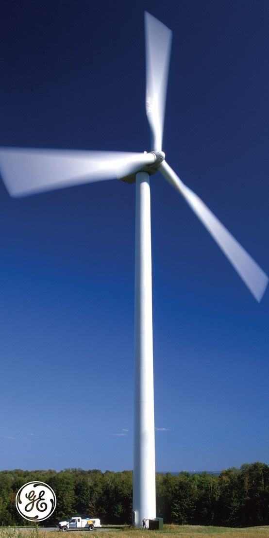 We're making our wind turbines more intelligent every day. #IndustrialInternet