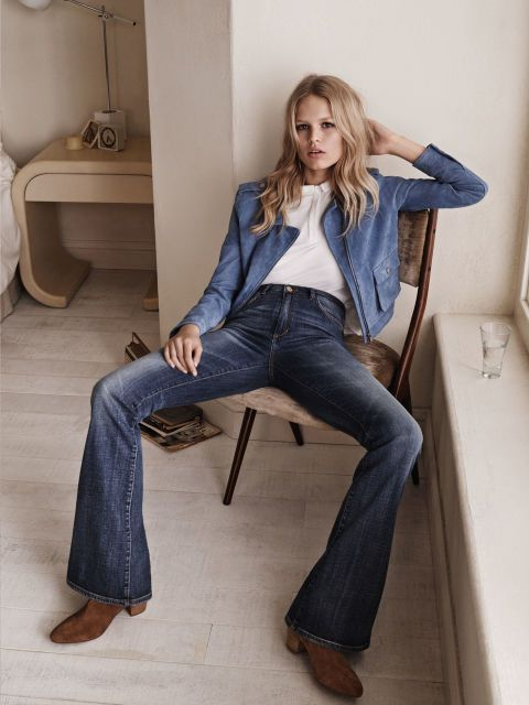 Anna Ewers for Mango... – www.homeanddelicious.com for great ideas –