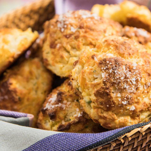 Garlic Cheddar Drop Biscuits Recipe Food Network Recipes Drop Biscuits Garlic Cheddar