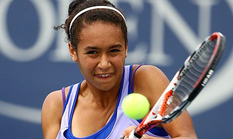 Heather Watson tennis