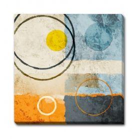 Magazin online de tablouri si postere de arta, tablouri canvas decoratiuni pictura moderna abstract picturi religioase reproduceri de arta fotografii - ABSTRACT - Circles All Around II