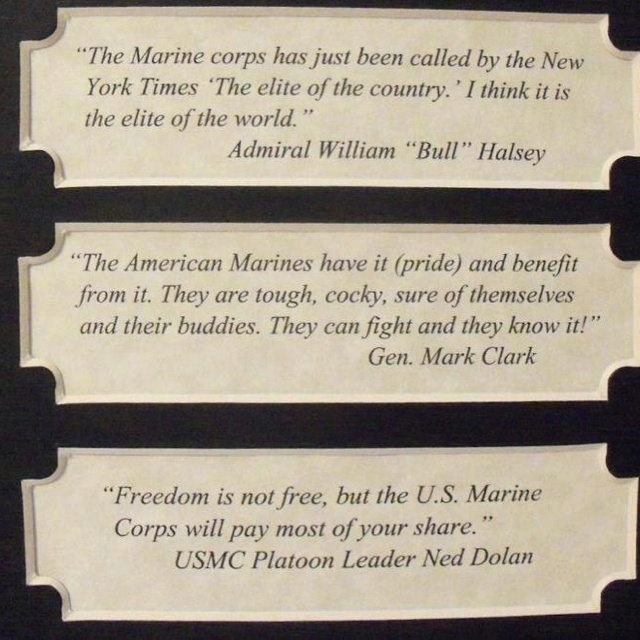 Some Marine Corps quotes