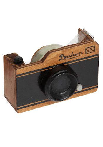 Caught On Camera Tape Dispenser | Mod Retro Vintage Desk Accessories | ModCloth.com