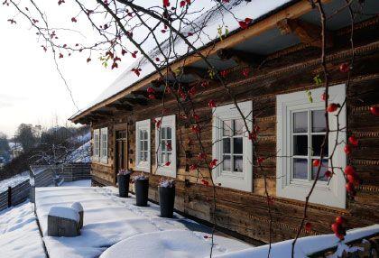 century-old house with a soul - 'Duck Hut' (Polish: 'Kacza Chata') in Szczyglice, Poland