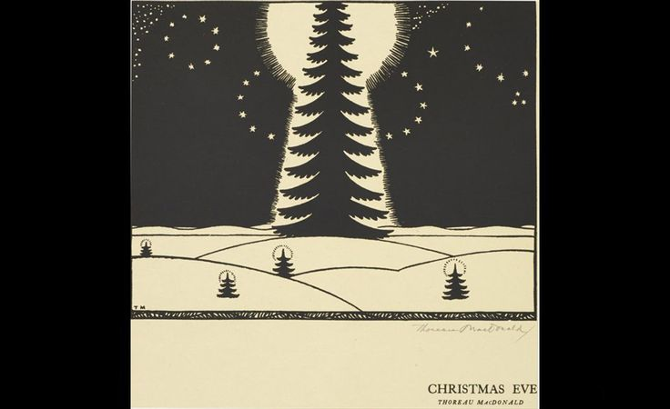 Thoreau MacDonald (1901-1989), Christmas Eve