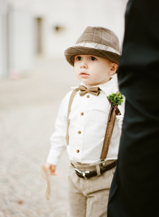Snippets, Whispers and Ribbons – 5 of the Sweetest Vintage Ring Bearer Looks