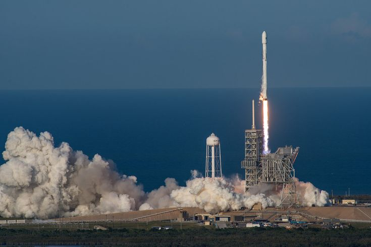 A SpaceX Falcon 9 rocket soared off a seaside launch pad at NASA's Kennedy Space Center  today (March 30) on an unprecedented second mission to deliver a spacecraft into orbit, proving the booster's reusability.