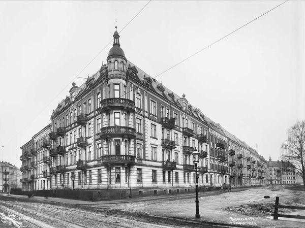 Frognerveien / Balders gate 1904