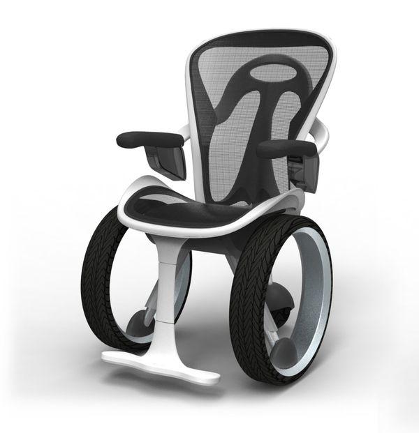 Wheelchair Concept by Neilson Navarrete, via Behance