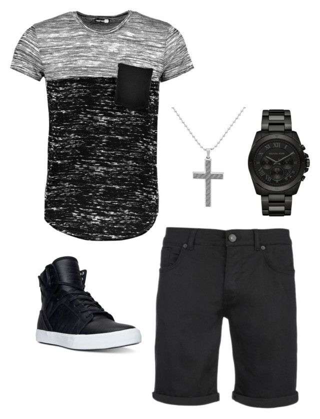 """""""Hot boy stuff"""" by parvanitagis on Polyvore featuring Boohoo, SELECTED, Supra, Michael Kors, men's fashion and menswear"""
