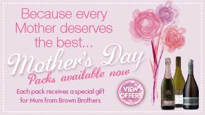 We have three great Mother's Day packs to chose from on our website: www.brownbrothers.com.au