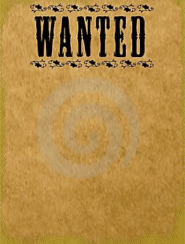 Wanted Poster Template photo: This is a template I can use to make ...