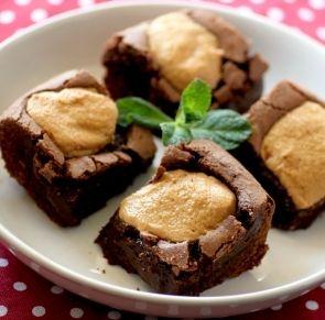 Brownie au beurre de cacahuète - Cuisine du monde - Pure Saveurs
