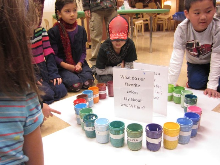 What do our favourite colours say about us?  Opal School