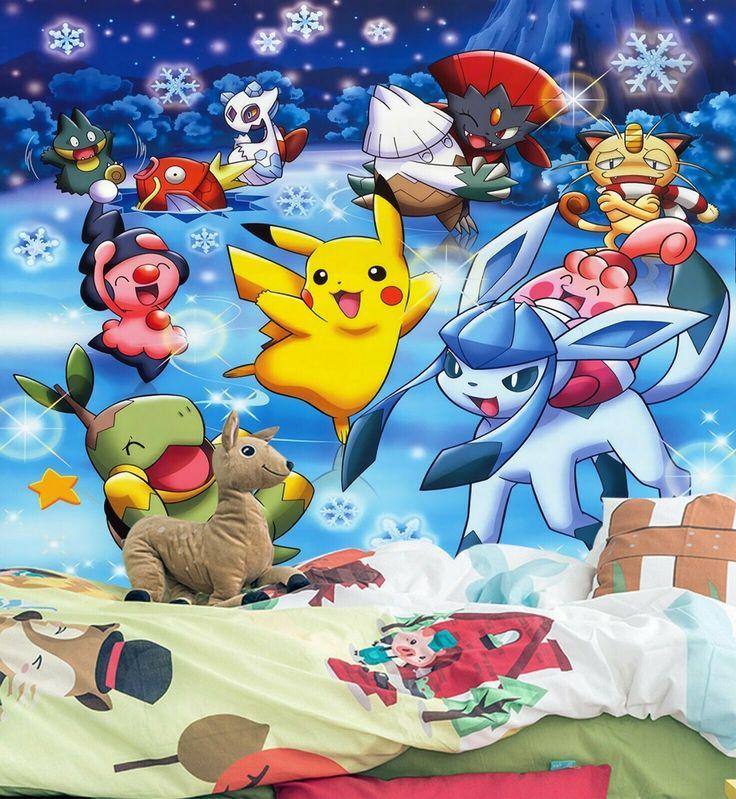 3d murals for pokemon pikachu 34 japan anime game