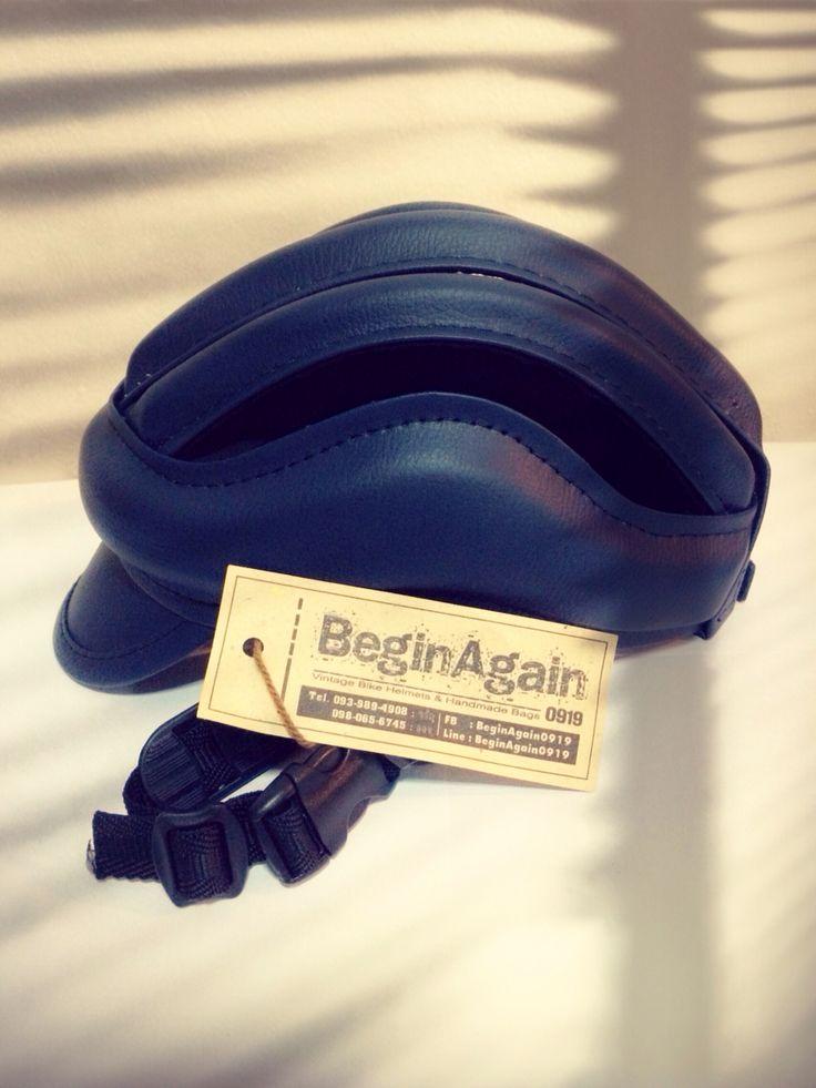Vintage Bike Helmets by BeginAgain0919 ID: BG05