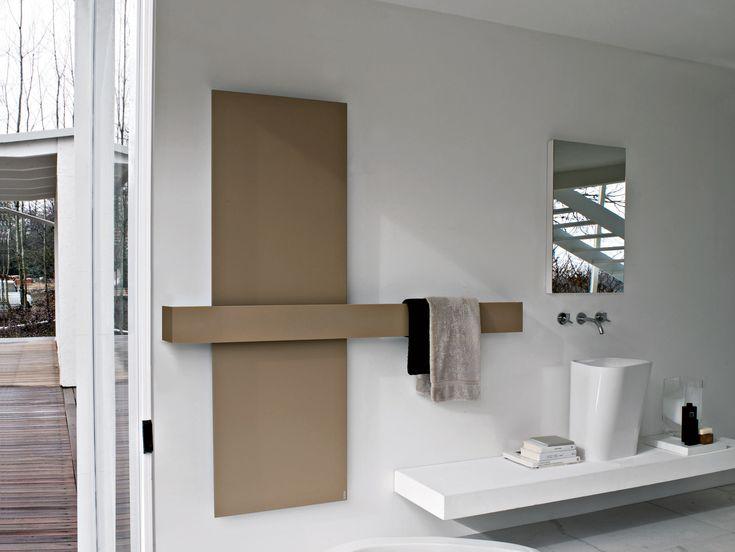 SQUARE Radiador decorativo vertical by Tubes Radiatori diseño Ludovica+Roberto Palomba