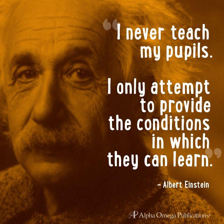 Einstein Quote Homeschool Learning Homeschool Inspiration