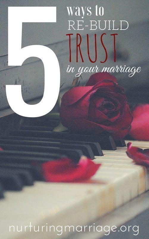 how to build trust after its been broken