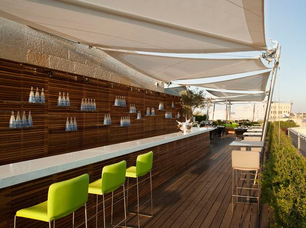 retractable corradi sail #awnings #WindowsWest #OutdoorDesign