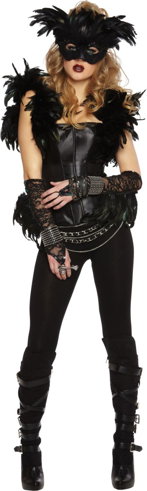 Adult Fantasy Raven Costume - Party City