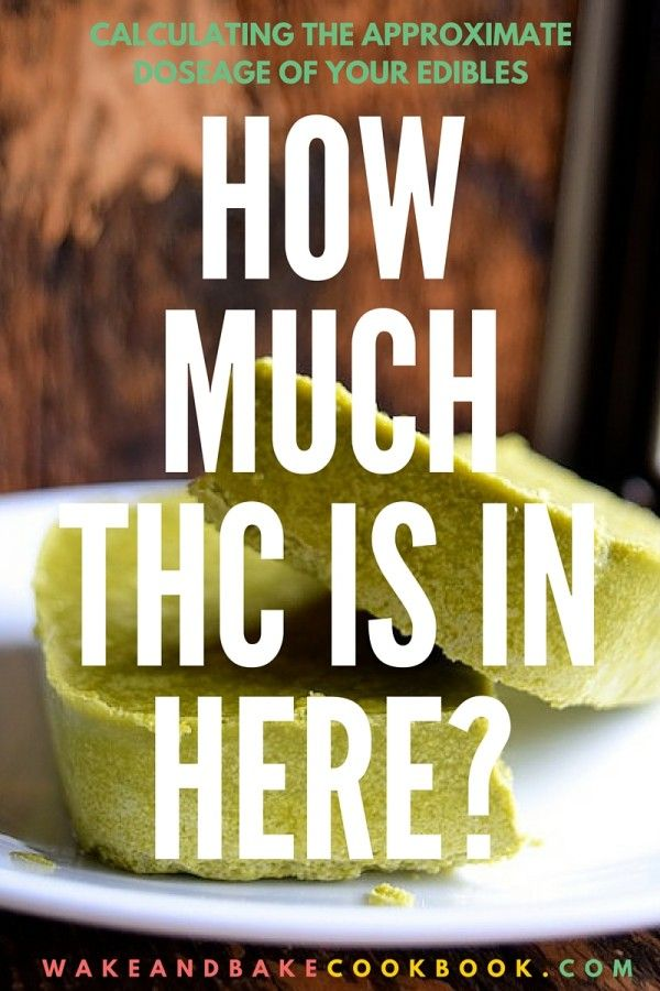 Calculating Dosage: How Much THC is in Your Cannabutter (or Cannaoil)?