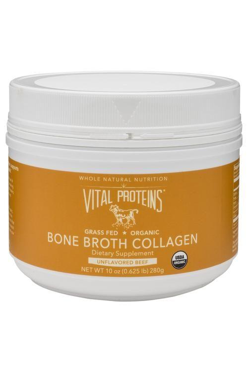Organic, Grass-Fed Beef Bone Broth Collagen