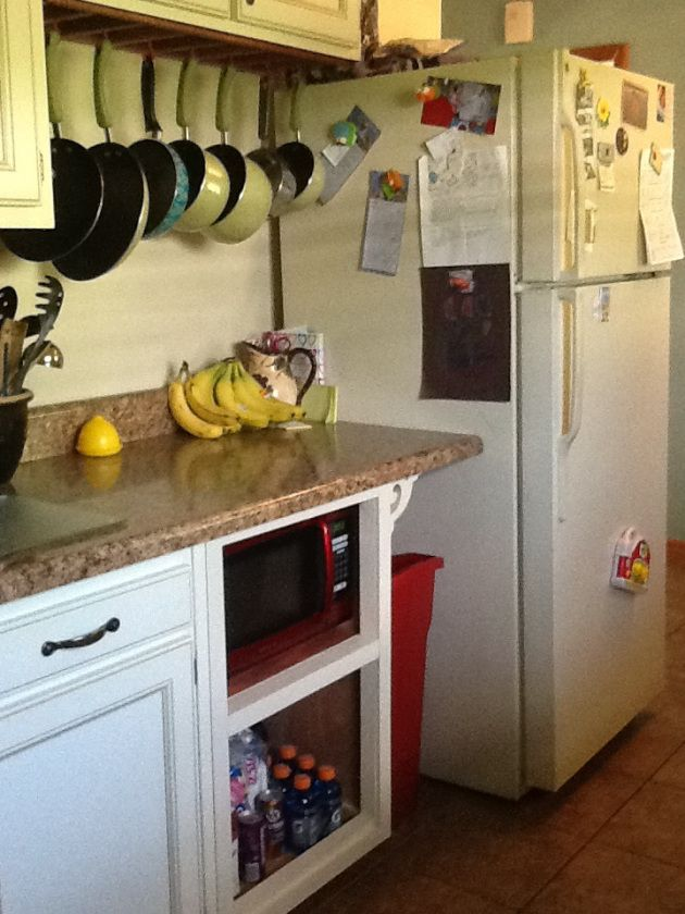 Pot Rack In Cabinet - 28 images - Remodelaholic Installing An In ...