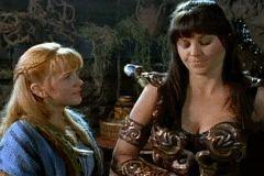 Xena Warrior Princess Gabrielle GIF