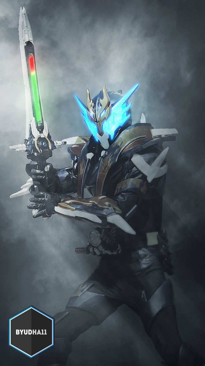 Kamen Rider Cross-Z With Blizzard Action Edit: Photoshop Facebook: Bagus yudha