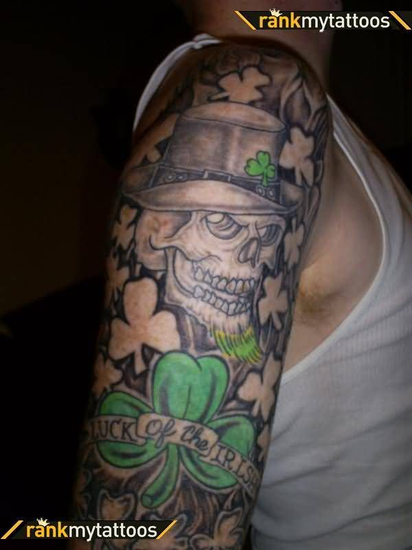 Image result for irish sleeve tattoos drawings