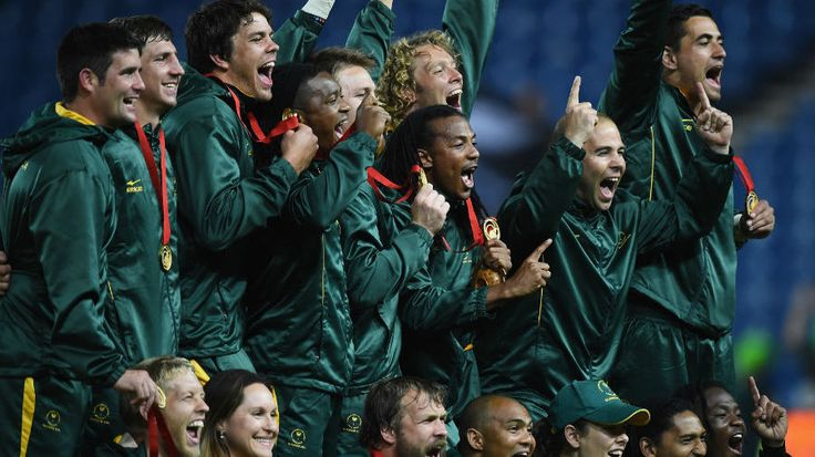 Commonwealth Games - South Africa stun All Blacks to take gold. Congrats Blitzbokke. <3