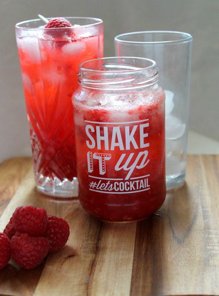 Smirnoff Raspberry Collins #letsCocktail - Jen's Food