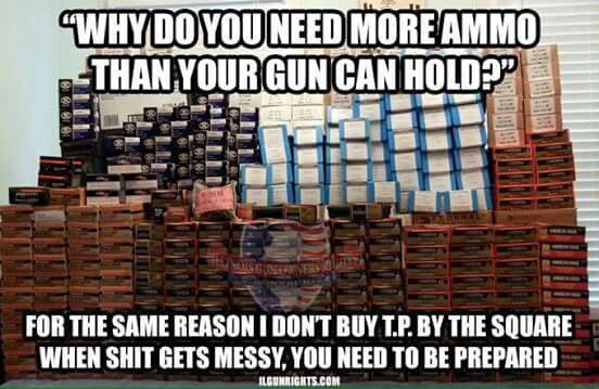 Its true plus the more the ammo the more the fun and the more stuff you can shoot with your gun