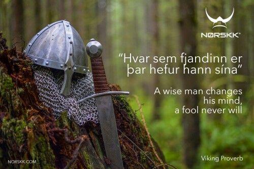 Viking Proverbs - Norskk®