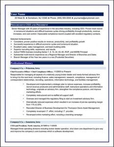 Executive resume writing services toronto