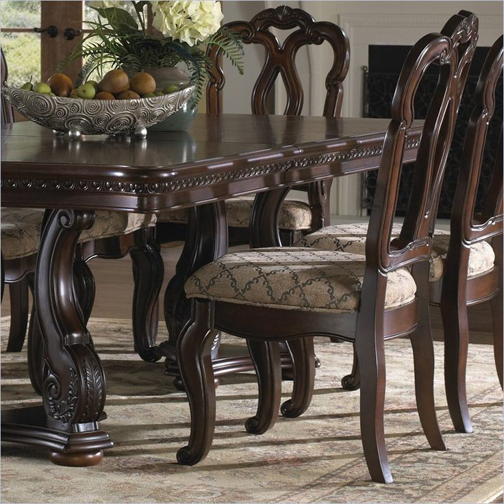 Samuel Lawrence San Marino Dining Chair In Dark Brown