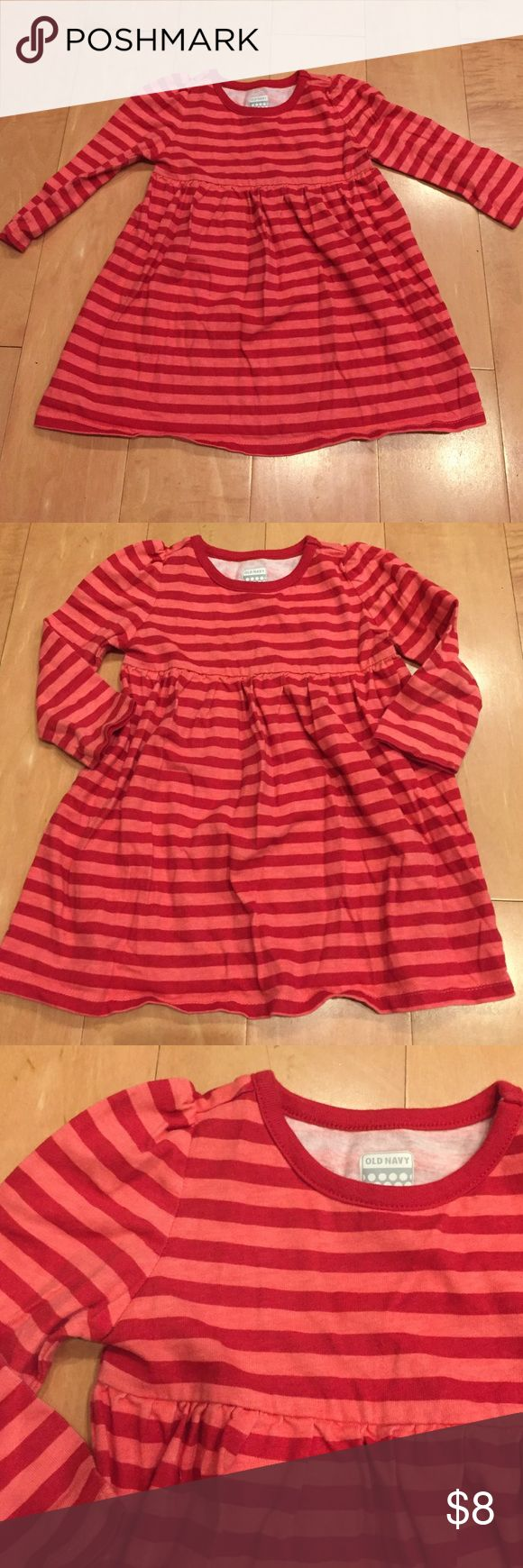 Old Navy pink/red striped dress Old Navy pink/red striped dress Old Navy Dresses Casual